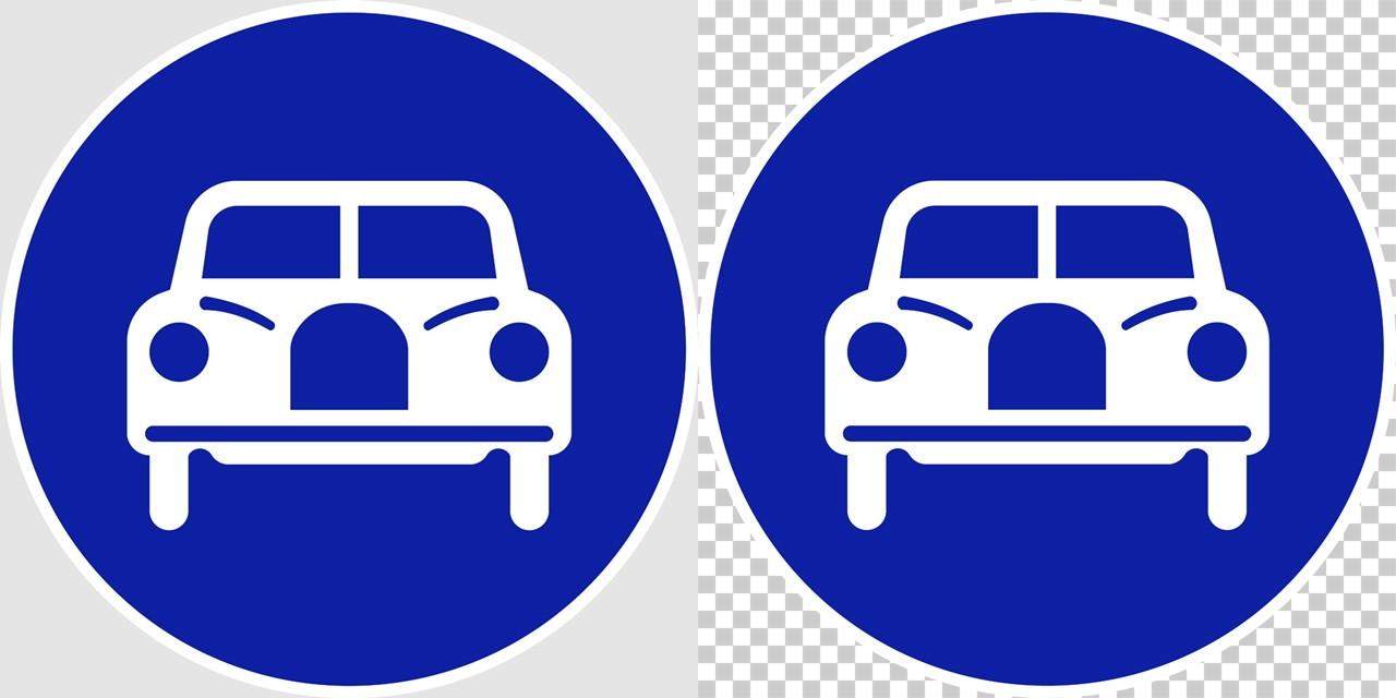 自動車専用の 規制標識│ マーク 日本の道路標識 切り抜き画像 イラスト フリー データ ダウンロード無料 商用可能 フリー素材 ダウンロード Free download 2D illustration JPEG png traffic signs│digital-architex.com