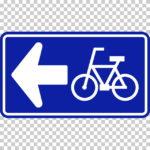 【交通標識】自転車一方通行の 規制標識【イラスト】ill-tsi_326-2-A