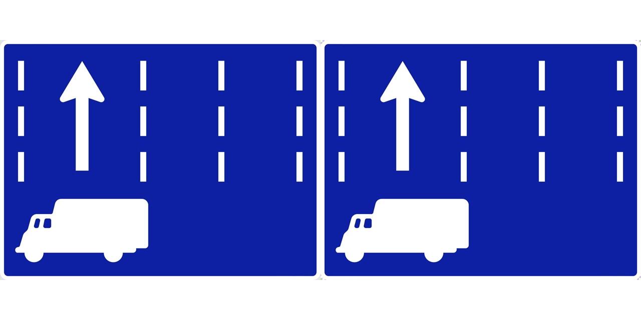 特定の種類の車両の通行区分の 規制標識│ マーク 日本の道路標識 切り抜き画像 イラスト フリー データ ダウンロード無料 商用可能 フリー素材 ダウンロード Free download 2D illustration JPEG png traffic signs│digital-architex.com