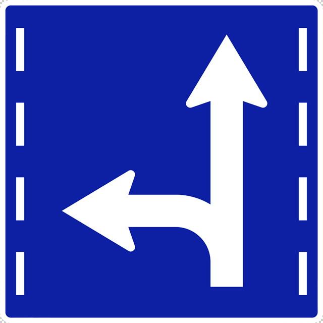 進行方向別通行区分の 規制標識│矢印マーク 日本の道路標識 切り抜き画像 イラスト フリー データ ダウンロード無料 商用可能 フリー素材 ダウンロード Free download 2D illustration JPEG png traffic signs│digital-architex.com