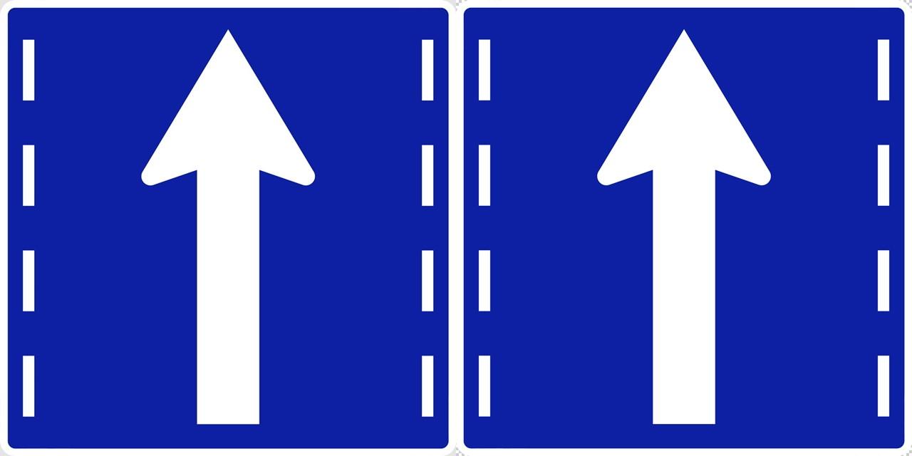 進行方向別通行区分の 規制標識│ヤジルシ マーク 日本の道路標識 切り抜き画像 イラスト フリー データ ダウンロード無料 商用可能 フリー素材 ダウンロード Free download 2D illustration JPEG png traffic signs│digital-architex.com