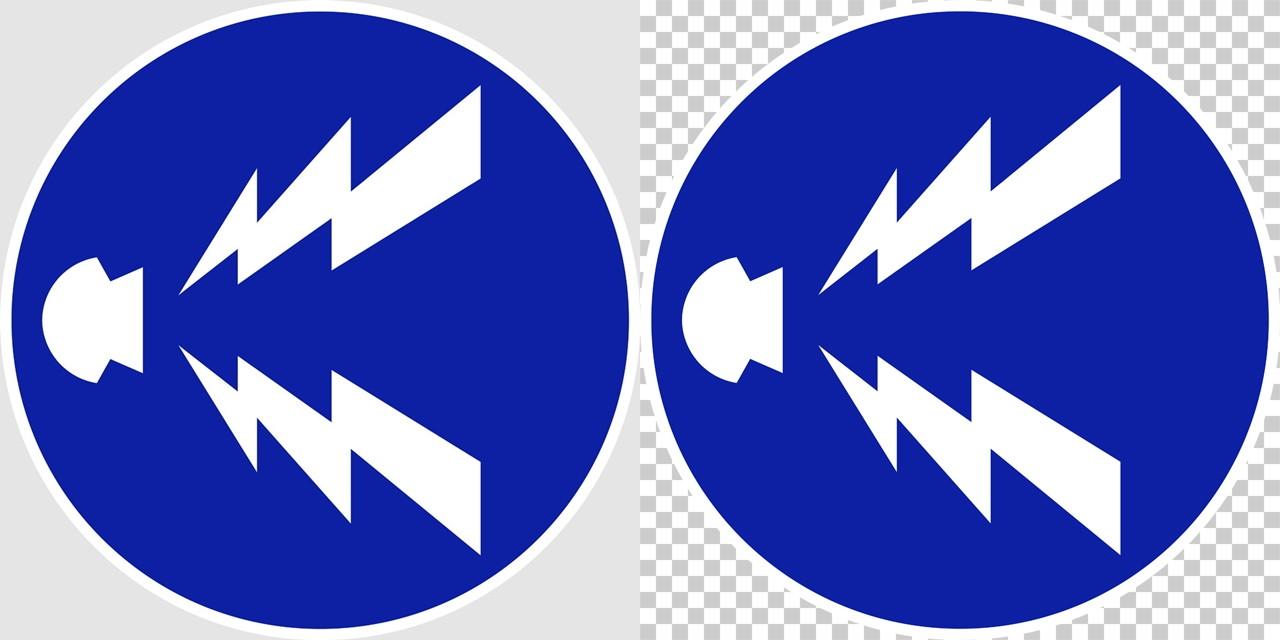 警笛鳴らせの 規制標識│マーク 日本の道路標識 切り抜き画像 イラスト フリー データ ダウンロード無料 商用可能 フリー素材 ダウンロード Free download 2D illustration JPEG png traffic signs│digital-architex.com