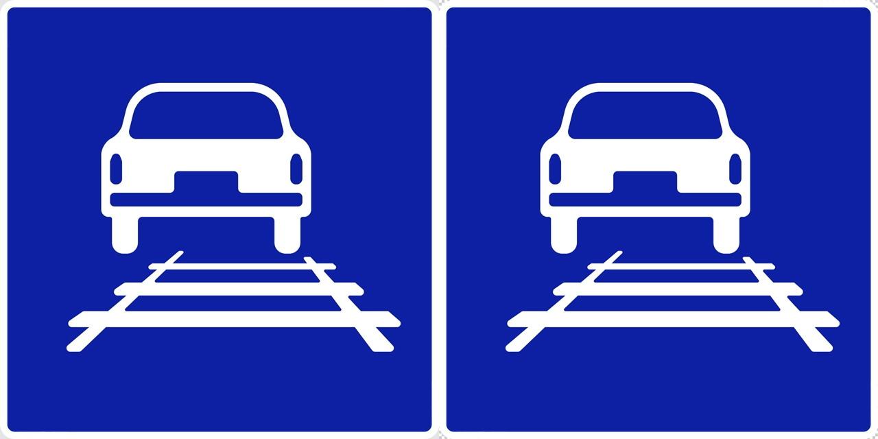 軌道敷内通行可の 指示標識│ マーク 日本の道路標識 切り抜き画像 イラスト フリー データ ダウンロード無料 商用可能 フリー素材 ダウンロード Free download 2D illustration JPEG png traffic sign│digital-architex.com