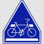 【交通標識】自転車横断帯の 指示標識【イラスト】ill-tsi_407-2