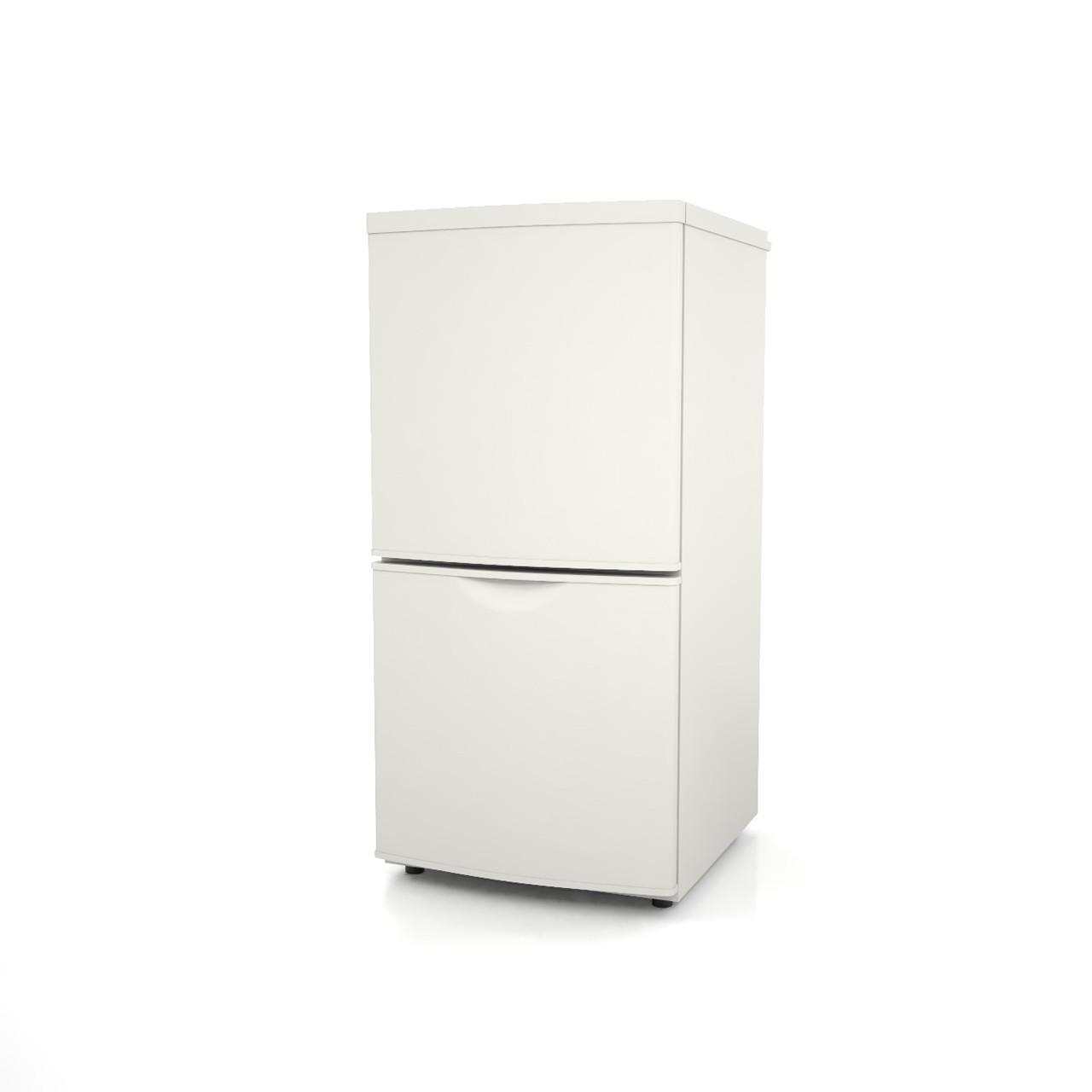 高さ1mサイズの小型の冷蔵庫(白色)の3dCADデータ│インテリア 家電製品 冷蔵庫 refrigerator│3d cad データ フリー ダウンロード 無料 商用可能 建築パース フリー素材 formZ 3D 3ds obj Free download│digital-architex.com
