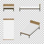【CG】マットが白い シングルサイズのベッド(油彩調)【イラスト】 ill-int_0018