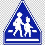 【交通標識】横断歩道の 指示標識【イラスト】ill-tsi_407-B