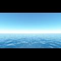 雲一つない青空と海丨CG 背景画像 海丨無料 商用可能 フリー素材 フリーデータ丨データ形式はjpegです