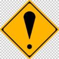 その他の危険の 警戒標識│ビックリ 驚く びっくりマーク 日本の道路標識 切り抜き画像 イラスト フリー データ ダウンロード無料 商用可能 フリー素材 ダウンロード Free download 2D illustration JPEG png traffic sign│digital-architex.com