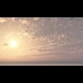 フリーデータ,2D,CG,背景画像,空,雲,太陽