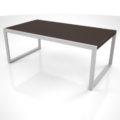 【家具】濃い茶色の木目の ローテーブル【formZ】 table_0023
