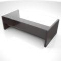 【家具】濃い茶色の ローテーブル【formZ】 table_0024