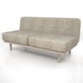 【家具】灰褐色の 2.5人掛けソファ【formZ】 sofa_0007