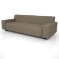 【家具】灰褐色の 3人掛けソファ【formZ】 sofa_0024