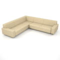 【家具】灰褐色の コーナーソファのセット【formZ】 sofa_0042