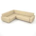 【家具】灰褐色の コーナーソファのセット【formZ】 sofa_0043
