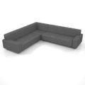 【家具】灰色の コーナーソファのセット【formZ】 sofa_0052