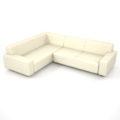 【家具】白色の コーナーソファのセット【formZ】 sofa_0055