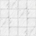 【タイル】白色の大理石タイル (目地灰色)【テクスチャー】 tile_0146